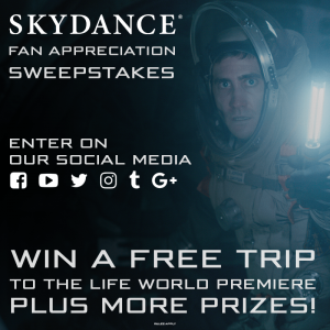 Win Tickets to the LIFE World Premiere at SXSW! - Skydance Media